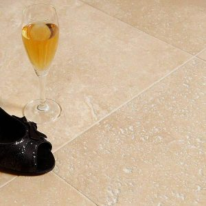 Lydia Classico Travertine Unfilled & Brushed