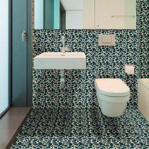 Splash Jade Floor and Wall Encaustic Tiles