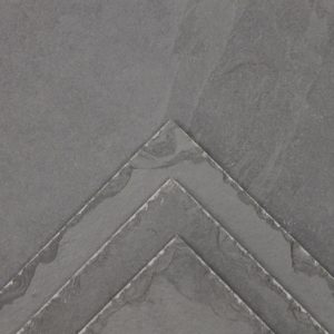 Grey Brazilian Chiseled Edge Slate