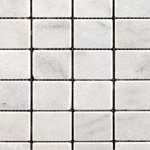 Caria Luna Tumbled Marble Mosaic