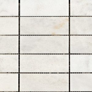 Carrara White Polished Marble Mosaic
