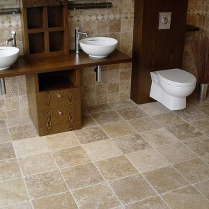 Siva Noce Tumbled Travertine
