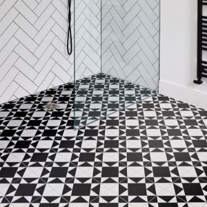 Brompton Underground Porcelain Shower Flooring