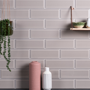 Camden Ceramic Light Tan Bathroom Wall Tiles