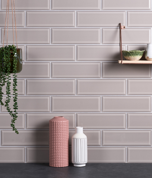 Camden Ceramic Light Tan Bathroom Wall Tiles