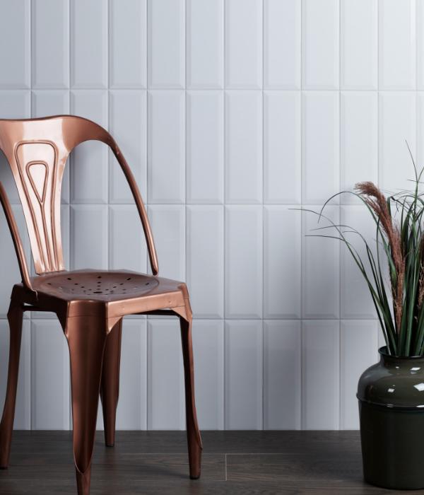 Camden Ceramic White Wall Tiles