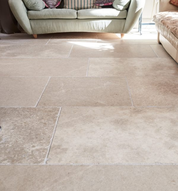 Carnaby Tumbled Limestone Close Up