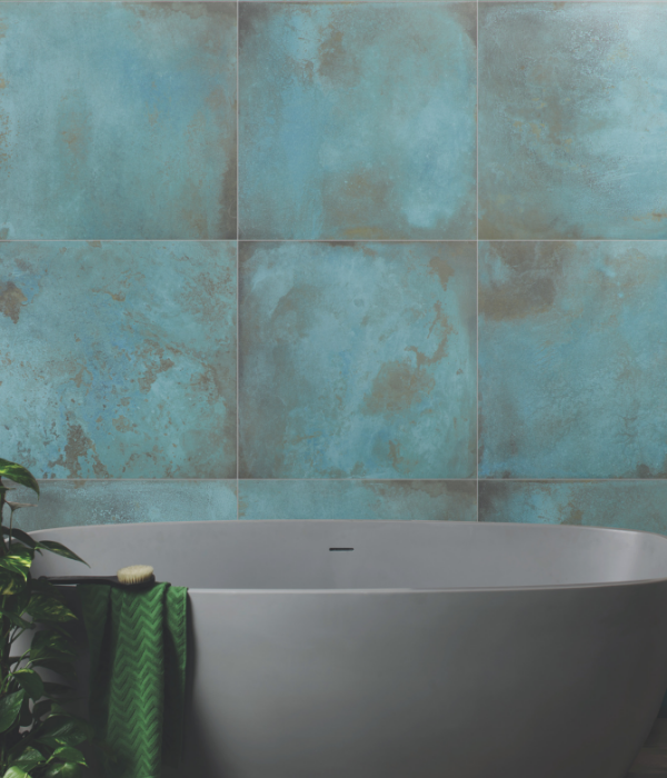 Chemistry Porcelain Verdigris Bathroom Wall Tiles