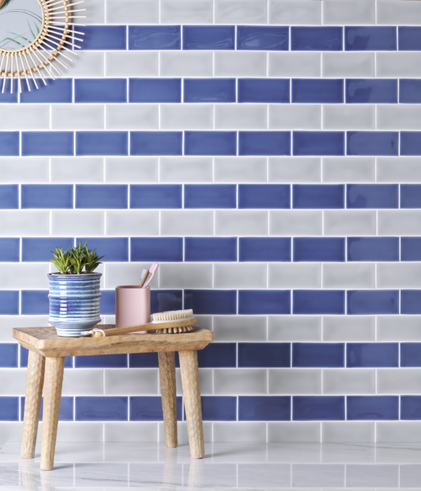 Colour Pop Ceramic Stripe Pattern