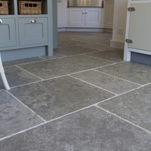 Denham Limestone Seasoned Finish Close Up