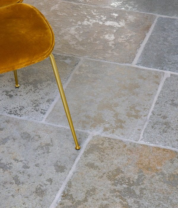 Farley Limestone Seasoned Finish Close Up