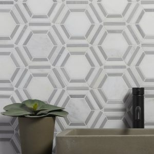 Florence Marble Mosaic Wall Tiles