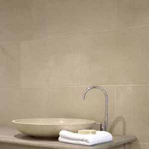 Fontaine Limestone Tumbled Finish Bathroom Wall Tiliing