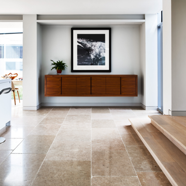 Hamlet Limestone Tumbled Finish Reception Room