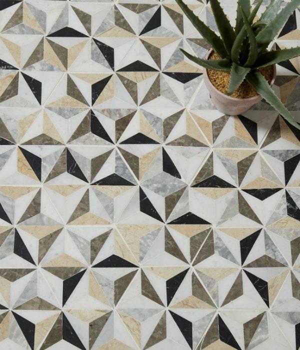 Istanbul Marble Mosaic Birds Eye View