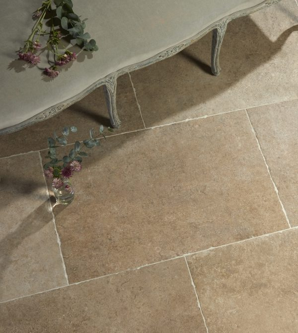 Jurassic Porcelain Taupe Birds Eye View