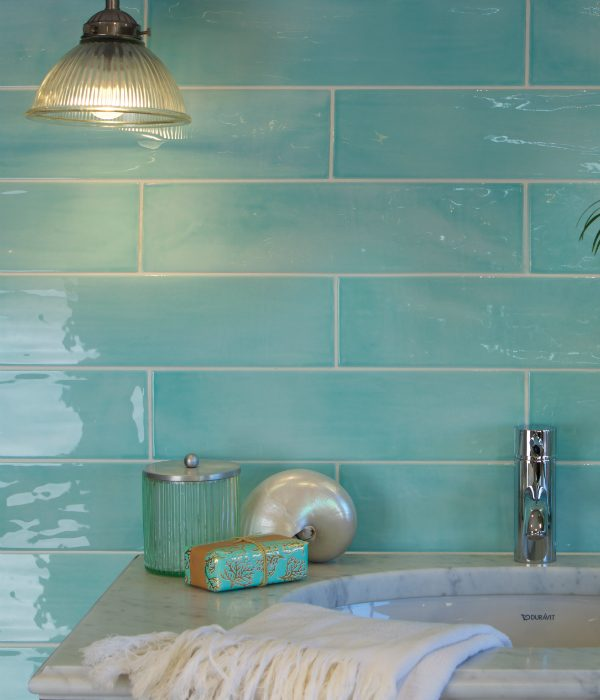 Kennet Porcelain Aqua Wall Tiles
