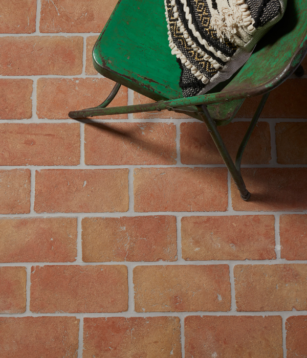 Marlborough Terracotta Rectangle Tiles In A Conservatory