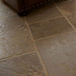 Medieval Bourgogne Limestone Weathered Finish Close Up
