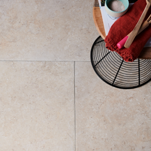 Mediterranean Porcelain Beige Close Up