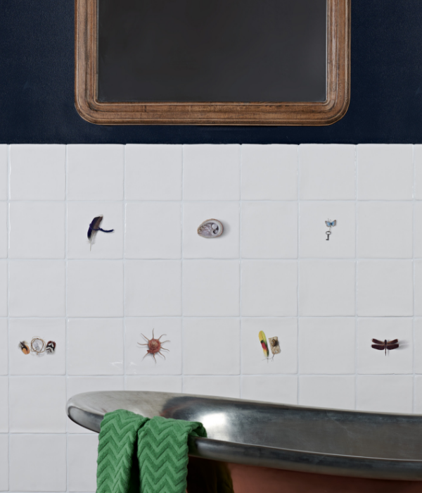 Menagerie Ceramic By Michael Angove Bathroom wall