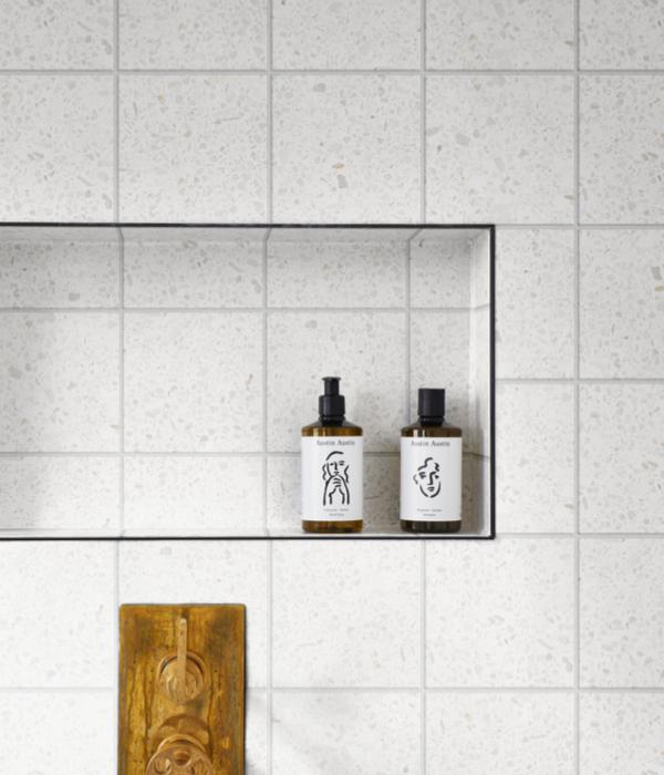 Modella Pearl Field Porcelain Bathroom Tiles