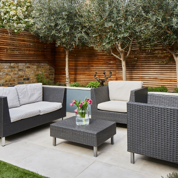 Neranjo Limestone Etched Finish External seating area paving