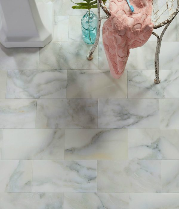 Palazzo Marble Honed Finish in a stylish kitchen