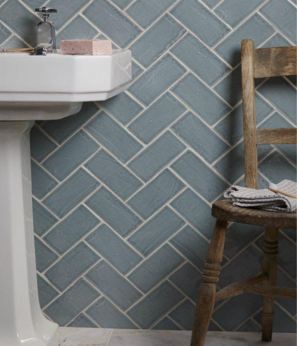 Seaton Ceramic Rock Pool Bathroom Wall Tiles