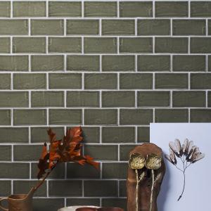 Seaton Ceramic Sage Wall Tiles