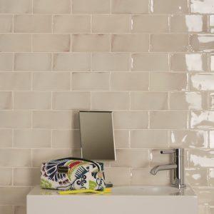 Seaton Ceramic White Sands Wall Tiles