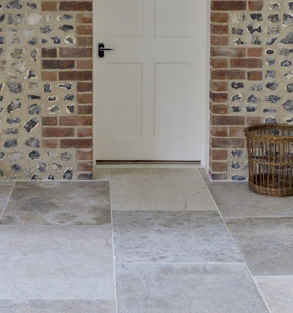 Weltzner Limestone Satino Finish subtle flooring